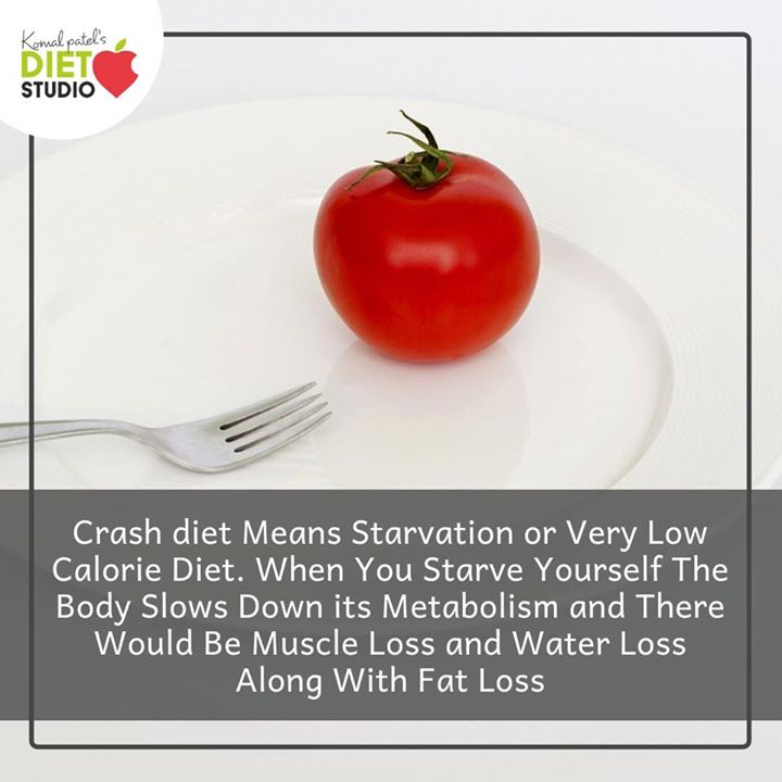 Drastically cutting down your calories to lose weight has long-term effects on our health.  So make a health decision to achieve your health goals.  Say no to crash diet  #crashdiet #healthylifestyle #calories #weightloss #saynotocrashdiet #healthgoals