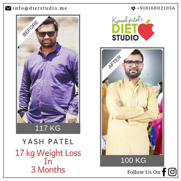 Our consultations are touching hundreds of life's. Happy to announce one more clients transformation. It's half the way still lot to achieve.. #transformation #weightloss #fatloss #weightlossjourney #dietplan #dietclinic