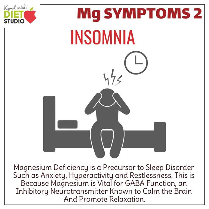 Magnesium plays an important role from the synthesis of DNA to the metabolism of insulin. Low levels of this mineral have even been tied to many chronic condition. Many people may be magnesium deficient and not even know it. Here are some key symptoms to look out for that could indicate if you are deficient  #magnesium #deficiency #mineral #healthybody #symptoms #nutrition #metabolism