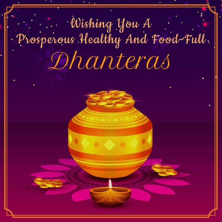Diet studio wishes you all a happy and fruitful Dhanteras  #dhanteras #diwali #diwaliwishes #dietstudio #komalpatel #happydiwali #featival #tradition