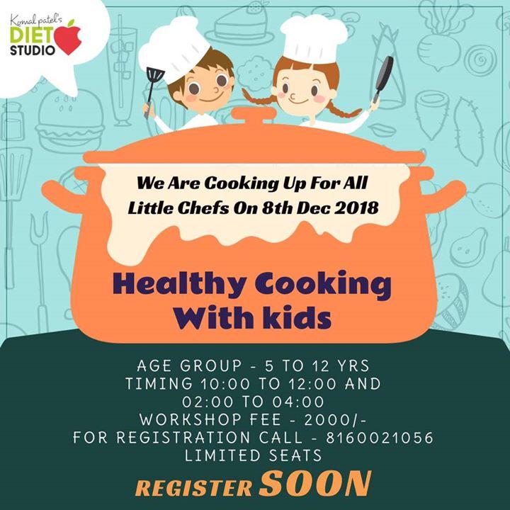 Komal Patel,  kids, healthykids, workshop, kidsworkshop, cooking, healthyrecipes, dietstudio