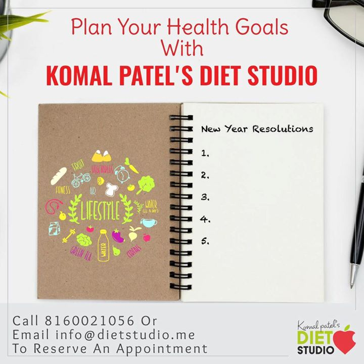 2018 coming to an end and it's time for a healthy new year  Achieve your health goals with us  #dietstudio #dietplan #diet #komalpatel #health #healthylifestyle