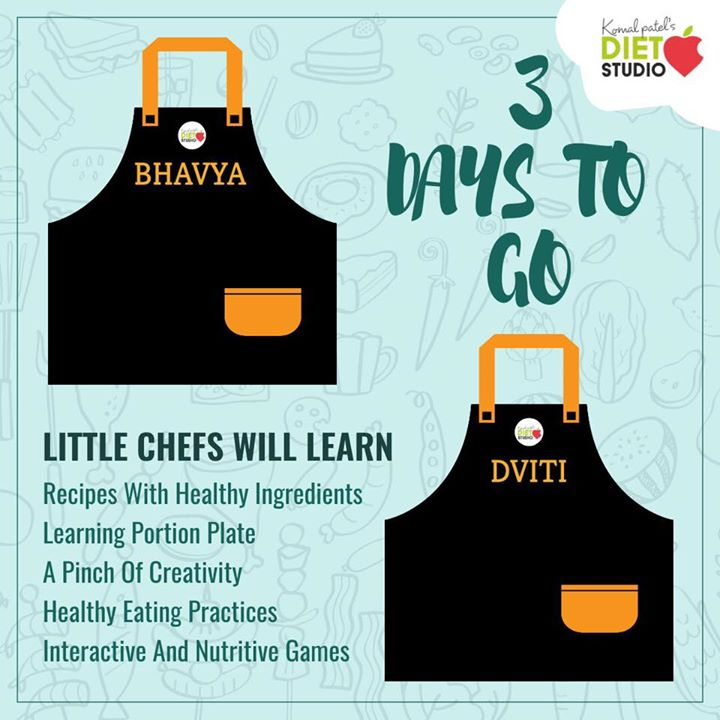Getting ready for the workshop  3 days to go  Learning about nutrition, portion plates and amazing recipes is going to fun and education together. Aprons in process for my little chefs  #workshop #kidshealth #kidsworkshop #childnutrition #recipesforkids #foodeducation #nutrition