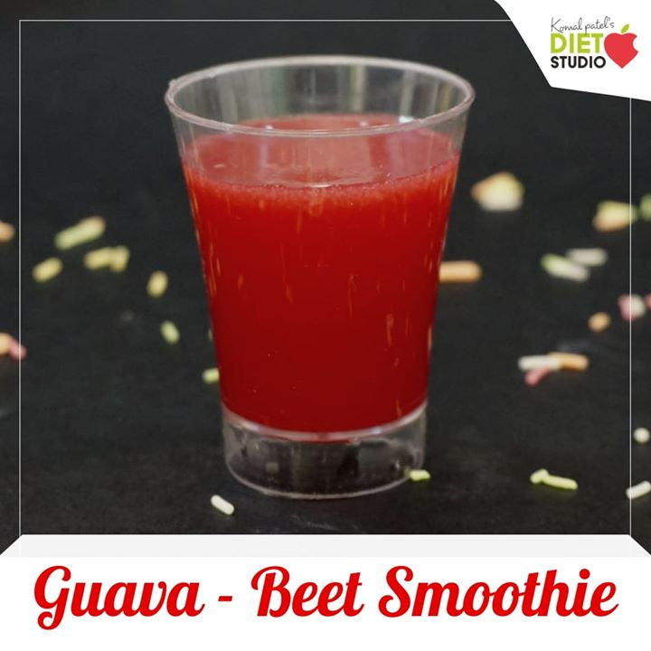 Beetroot juice makes for the new superfood in the bay. Adding to its numerous health benefits Adding it to your kids juice makes it a health drink  Guava beet juice a great health drink  #guava #guavajuice #healthdrink #kidshealth