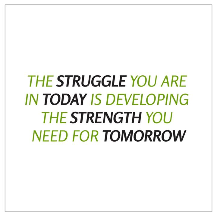 Work for the strength of tomorrow  #workout #healthyeating #dietplans #quote