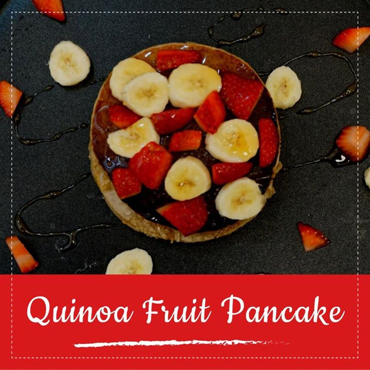 Pancakes are great for breakfast , for kids lunch box and for Christmas parties. This Protein rich strawberry pancake are delish with no added sugar and packed with protein they are so good for little tummies and big ones too..... Check out for the full the recipe   https://youtu.be/jcbkP-oQYLg  #pancake #qunioa #proteinpancake #healthyrecipe #healthybreakfast #fruits #proteinrecipes