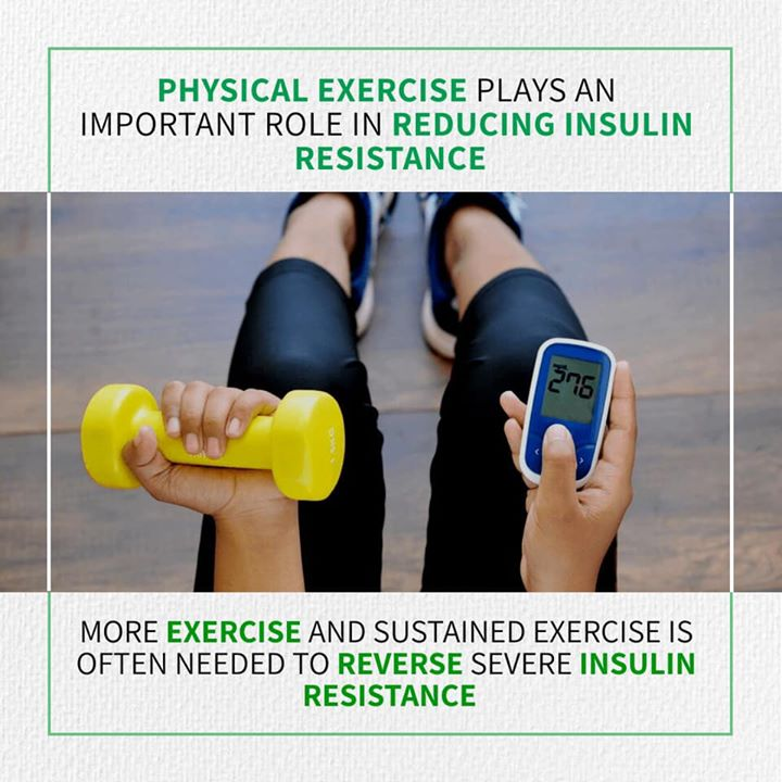 Exercise is sure to be on your to-do list if you have diabetes It is important in reducing insulin resistance.. 150min of exercise in a week is recommended and required if h have diabetes  #exercise #diabetes #insulin #insulinresistance #physicalexercise #diabetes