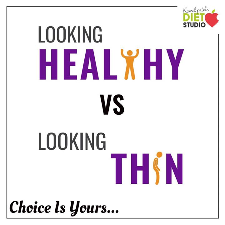 The 'best' compliment most of us can receive is to be told they look thin. Why? Being thin isn't a good thing. Being fit and healthy and strong is. The key to a happy, healthy body is to eat a balance diet and not deprive of any nutrient or food group.  #choice is yours  Choose healthy strong and fit by eating balanced and healthy lifestyle #healthylifestyle #healthybody #fit #fitness #beingfit