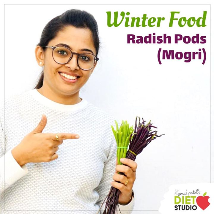 Radish pods, known as moongra or mogri in India, are essentially the seeds of the radish plant. There are long and vary in colour that is green and red. They can be cut into different sizes as per the recipe requirement.They are available only in winter months.  One cup of sliced red radish bulbs provides approximately 20 Calories· Radishes are suggested as an alternative treatment for a variety of ailments including cough, gastric discomfort, liver problems, constipation, dyspepsia, arthritis, gallstones and intestinal disorders. So try including this winter vegetable in your  daily meals. Check out for its benefits in the link below  https://youtu.be/aV2EE3nljSA #radish #radishpods #mogri #winterfood #winter