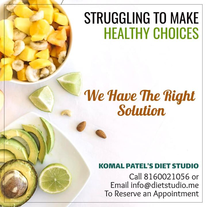 The first step to making healthy normal is making healthy choices.  Make Better Food Choices. Find out what you need. Get personalized nutrition information based on your age, gender, height, weight, and physical activity level. #contact us for any health queries  #health #healthy #diet #dietplan #dietclinic #komalpatel #dietitian #nutrition