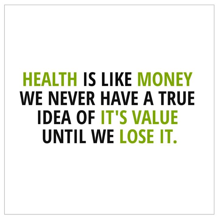 There is nothing more important than good health #health #healthy #healthylifestyle #mondaymotivation