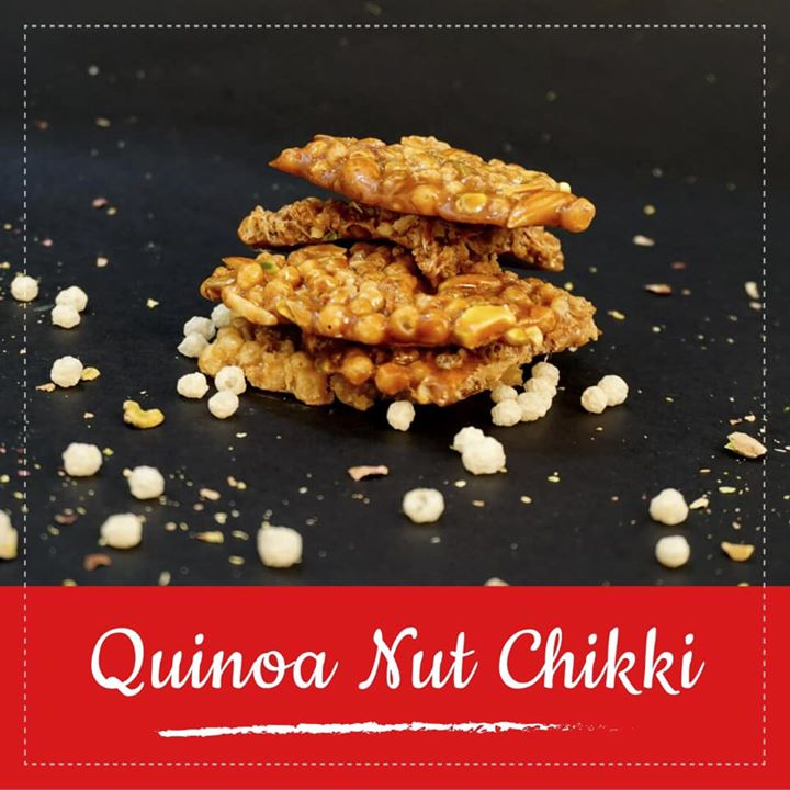 Replace your puffed rice with puffed quinoa.... Puffed Quinoa Jaggery Chikki is a gluten free, vegan treat.  Quinoa is gluten-free, high in protein and one of the few plant foods that contain all nine essential amino acids.  Check out for the recipe  https://youtu.be/tTPh-5GTskY #qunioa #qunioachikki #chikki #jaggery #glutenfree #healthyuttrayan #uttarayan