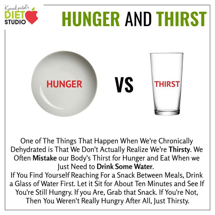 Try and understand your hunger and thirst  #hunger #thirst #body #mindfuleating
