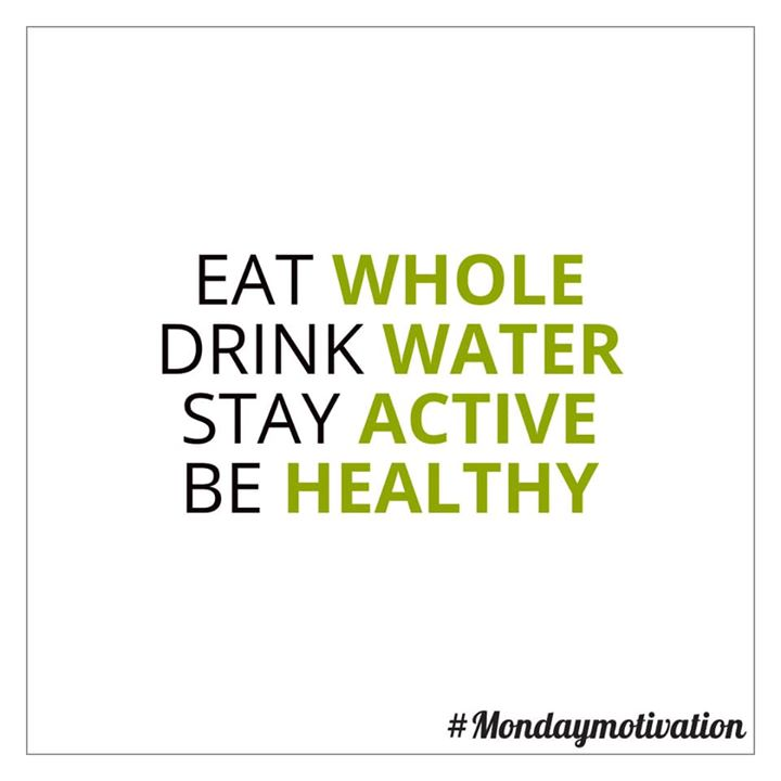 #mondaymotivation  Mantra for healthy living  #healthy #fitness #healthyliving