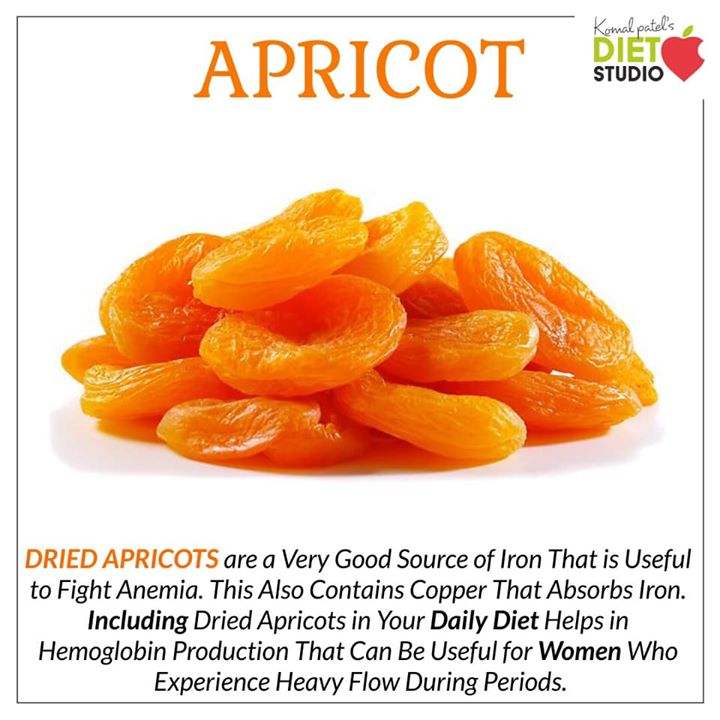 The impressive health benefits of apricots are due to the wide range of nutrients present in it. Apricot is rich in vitamins like beta-carotene, Vitamin A, C, E and K. It is rich in minerals like iron, potassium, manganese, magnesium, phosphorus. It is also a good source of antioxidants, dietary fiber and flavonoids.  #apricots #dryfruits #driedfruit #vitamins #antioxidant #hemoglobin