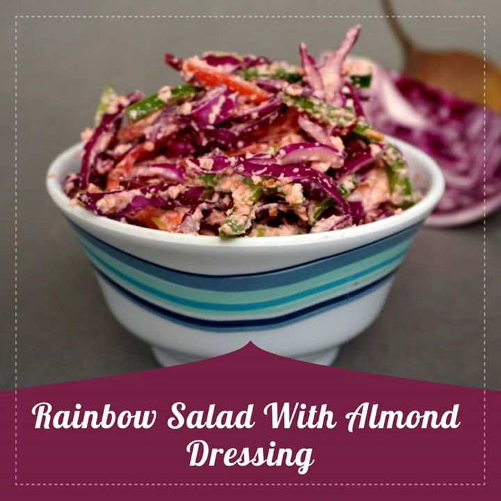 Komal Patel,  salad, rainbowsalad, healthysalad, healthyrecipe, youtube, vegetables