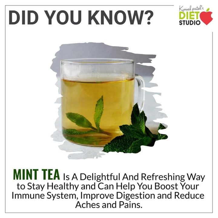 While mint tea is often drunk for its flavor, it may also have several health benefits. Mint  tea is sometimes referred to as the stomach healer. #mint #minttea #herbaltea #digestion #immunity