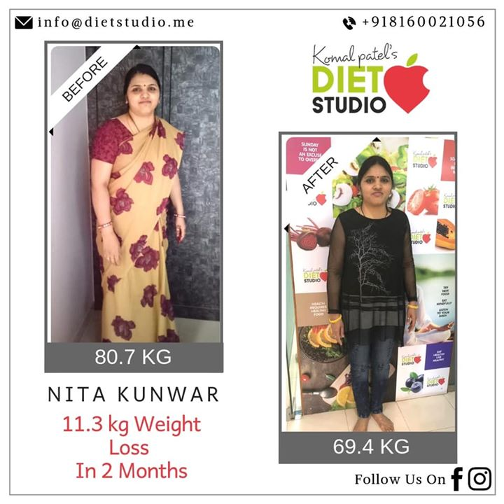 Komal Patel,  weightloss, weightlossclient, dietplan, diet, dietclinic, lifestyle