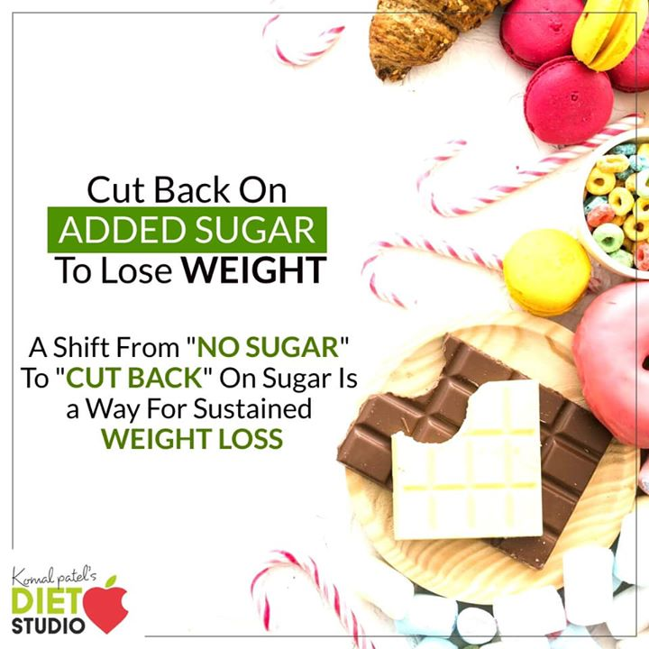 My advice is to practice moderation and work your way towards cutting back on sugar. cutting sugar out of your diet gradually is the way you want as a lifestyle change to be sustainable. #weightloss #komalpatel #sugar #cutsugar #addedsugar