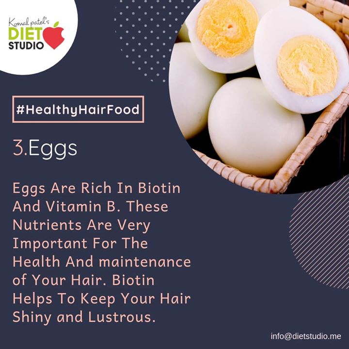 The food you eat does more than just fill you up. Follow our guide for the best way to improve your hair by eating. #hair #healthyhair #hairtips #stronghair #tips