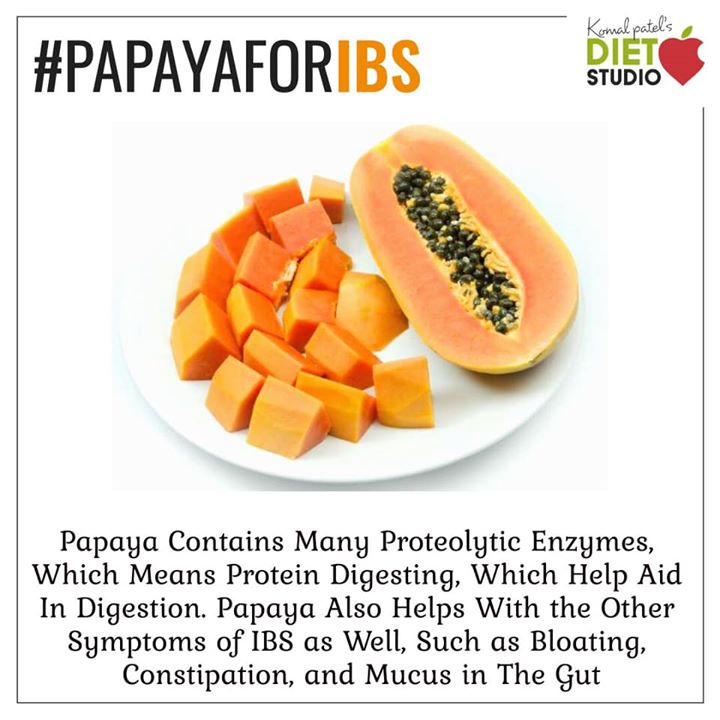Papaya is high in fiber and water content, both of which help to prevent constipation and promote regularity and a healthy digestive tract. #paapya #digestion #healthydigestive #enzyme