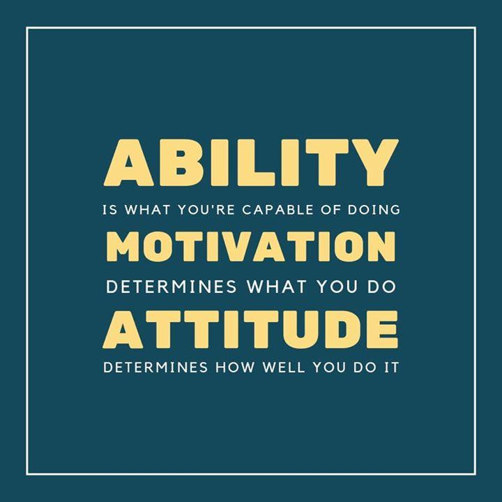 Komal Patel,  mondaymotivation, ability, motivation, attitude