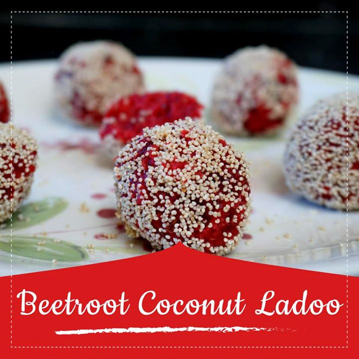 Komal Patel,  beetroot, ladoo, coconut, recipe, healthy, healthyrecipe