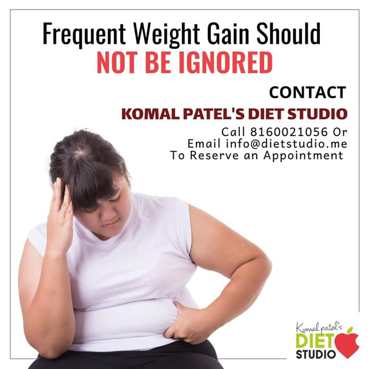 We often ignore small warnings that our body gives, thinking that the problem will go away gradually. Unexplained weight gain can signal a big problem too.... So regular health check up and healthy life's is the solution to the problem  #weightgain #health #healthylife #dietstudio