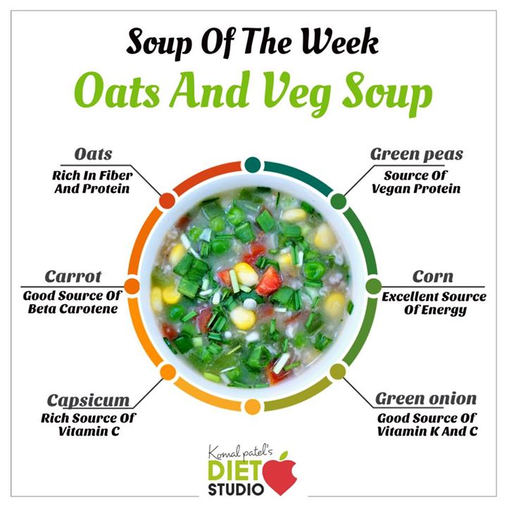#vegetableoatssoup  Vegetable and oats soup is a simple and comforting soup recipe that is packed with plenty of fibre and nutrition. vegetable and oats soup is a fibre-rich soup that is very filling while also aiding in weight loss.