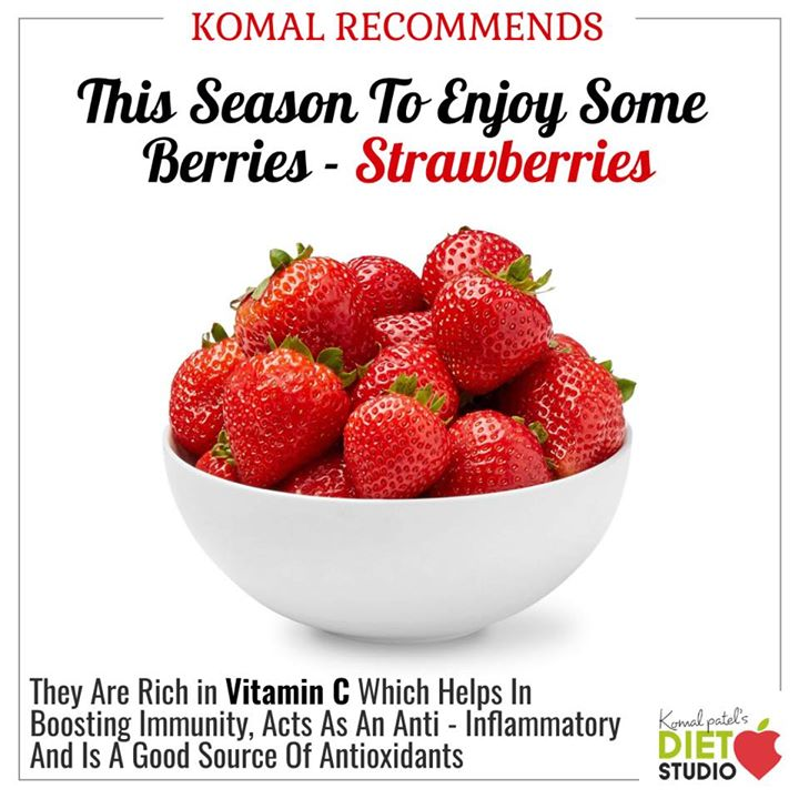 #komalrecommends  Strawberries are one of the most loved types of fruit for their sweet taste and versatility in recipes, but they also have an impressive amount of health benefits.  So it's recommended to enjoy this season some berries.  #berries #strawberries #benefits #health #komal