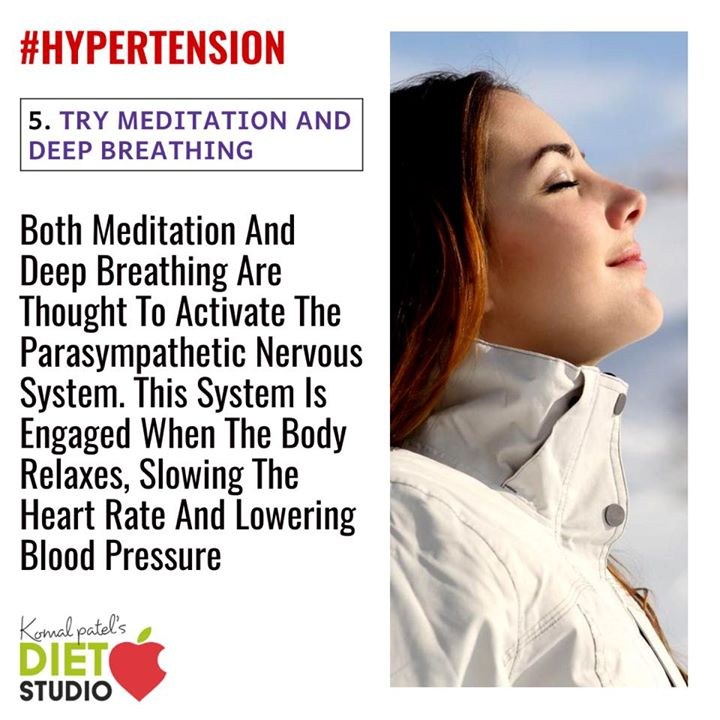 Even if your blood pressure is in the normal range now, you can take steps to prevent hypertension in the future. If you suffer from or are at risk for hypertension and want to get it under control, it's important to make certain lifestyle changes that can help you prevent and even treat this disease. #hypertension #lifestyle #disease #tips