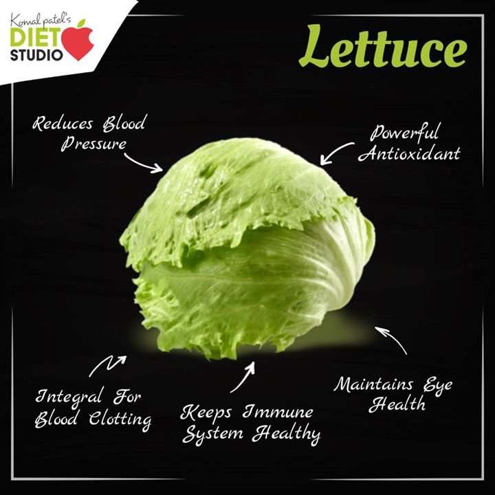 It has high water content, making it a refreshing choice during hot weather. It also provides calcium, potassium, vitamin C, and folate. The nutrients in lettuce can help you to meet the standard daily requirements for several vitamins and minerals. #lettuce #antioxidant #nutrients #salad