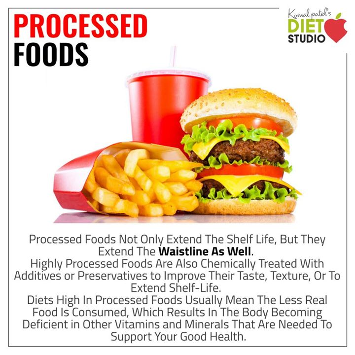 processed food not only extend shelf lives but also extend waist line.. #processedfood #fastfood #junkfood #health