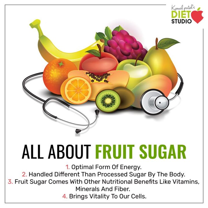 We all know that fruit contains valuable nutrients. but most of the calories in fruit come from carbohydrates specifically sugar. While most fruit contains a mixture of different sugars, a major sugar in fruit is fructose. Know some more facts about fruit  #fruit #sugar #fruitsugar #health #energy #vitamins #minerals