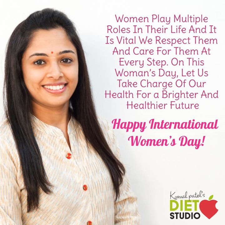 Happy women's day  Celebrate yourself by investing in yourself in your health and healthy lifestyle.  Beauty is all about being comfortable in your own body and loving your body  It's about knowing and accepting who you are.....  #womenshealth #womensweek #womensday #womenshealth #womensfitness #komalpatel #dietitian #nutrition #nutrionist #dietclinic