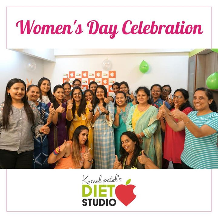 Komal Patel,  womensday, seminar, team, dietstudio, dietclinic