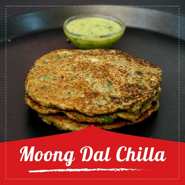 Loaded with a wealth of health benefits, a moong dal chilla is perhaps the best start you can give your day. Moong Dal is Packed with protein and low carbs and loaded with vegetables.  Check out for the recipe in the link below. https://youtu.be/KEzj27TaJSY #moongdalchilla #moongdal #chilla #healthyrecipe
