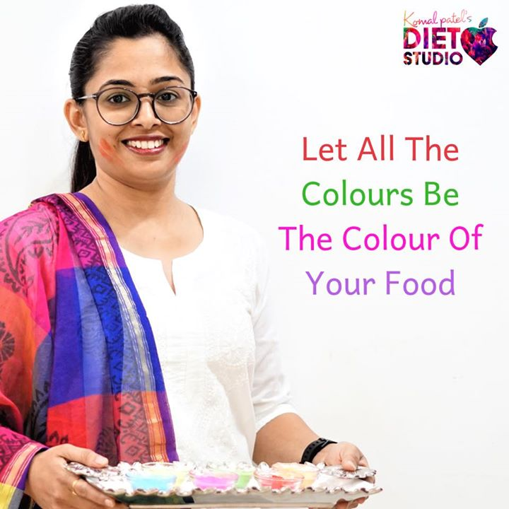 #happyholi  Play with colours not with calories  #holi #dietstudio #dietclinic #festival #celebration
