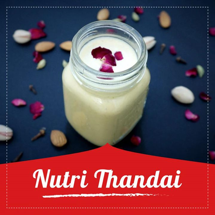 Thandai is an Indian spiced almond milk served during the festival of Holi. A wonderful, refreshing beverage made with almond milk, spices.  https://youtu.be/yGIlqi3JpCo #thandai #almondmilk #holi #festival
