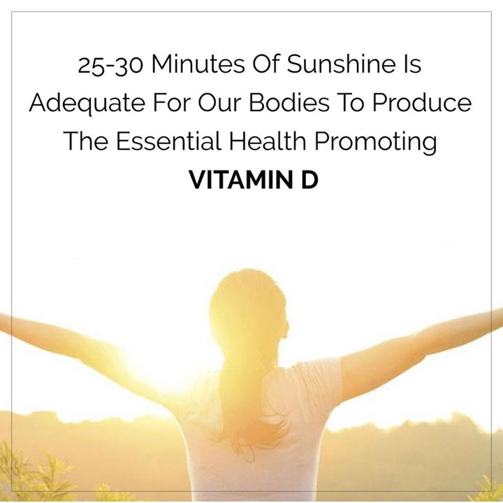 Regular sun exposure is the most natural way to get enough vitamin D. #sunshine #vitamin #vitamind #sun