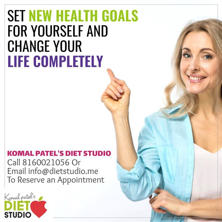 Set your health goals with dietitian Komal Patel and achieve a healthy lifestyle change  #diet #health #healthgoals #lifestyle #komalpatel #dietitian