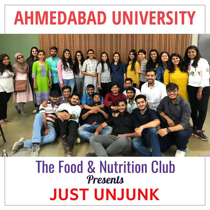 Was invited as chief guest of the event just unjunk to take the session on teaching some dishes which help students to be healthy at an early age and maintain health for the life in this fast growing world. Also judged the competition of creating healthy dishes.  It was such an interactive session where we bursted some myths and learnt how to eat healthy with college life.  #ahmedabaduniversity #seminar #cooking #healthyrecipes #komalpatel #dietitian