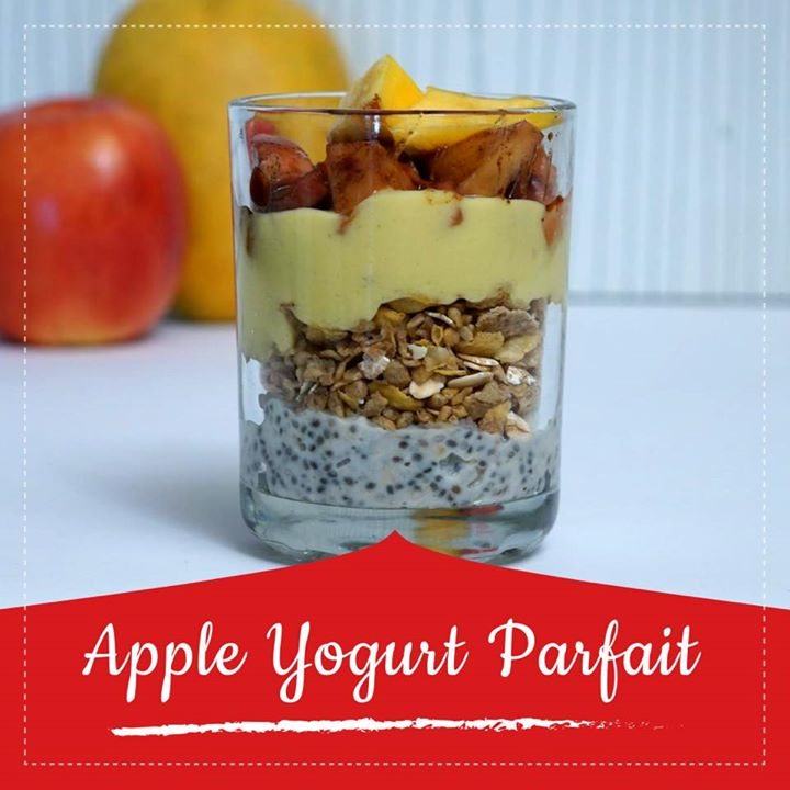 This super-simple parfaits are a healthy and quick recipe as a breakfast or as a snack. Its made  with sweetened and cinnamon-infused  crunchy apple  layered with muesli and mango yogurt which makes it a complete healthy option this summer season.  Check out for the recipe in the link below  https://youtu.be/_QKd0OI9voc #apple #yogurt #parfait #healthydessert #summerrecipe #mango #youtube #healthyrecipes