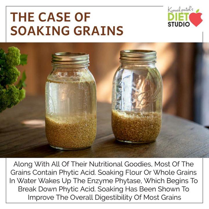 Komal Patel,  grains, soaking, wholegrain