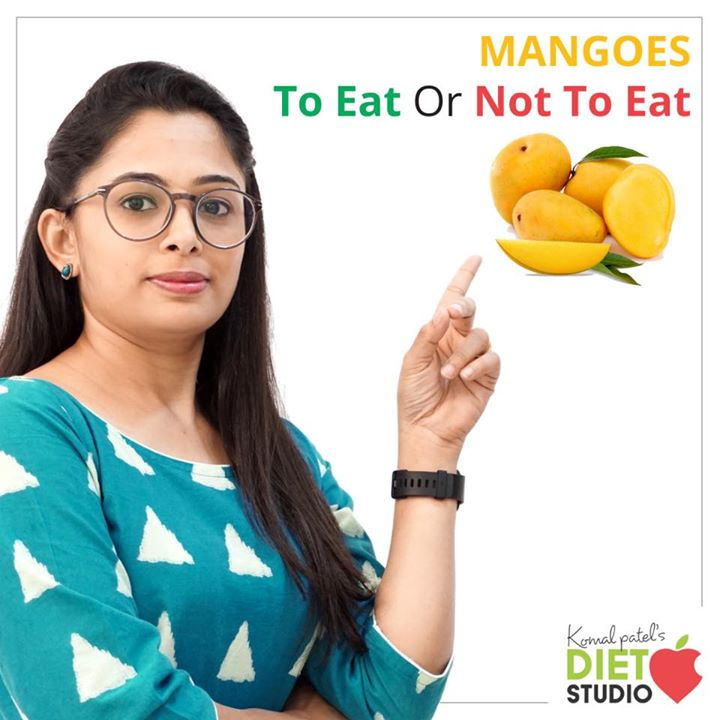 "It's summer time and the season for most of our favourite fruit. Mango  But all day through what's app or mail or from clients I get only 1 question  ""Can I eat mangoes if I have diabetes?"" Wouldn't mangoes raise my sugar levels?"".  "" Oh! Mangoes are too much sugar.  Am I going to put on weight if I eat mangoes?"" Check out the video to know mangoes to eat or not to eat.  https://youtu.be/8dmz7x66AwU #mangoes #healthy #seasonalfruit #nutrition #youtube #komalpatel"