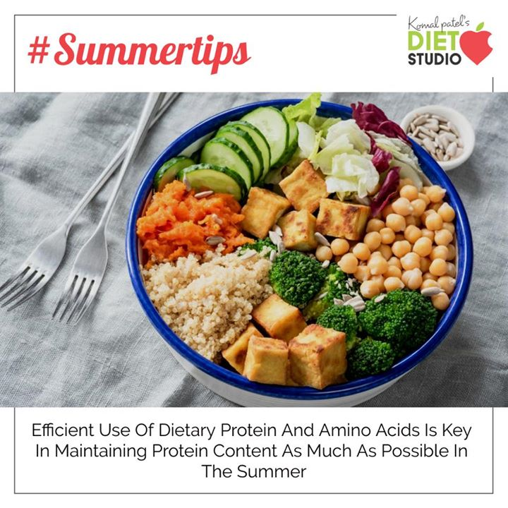 This summer don't let the scorching heat take a toll on your energy and vitality. Include great protein sources like curd, buttermilk, low fat paneer , lentils to recover the energy and make you feel full for longer time. #protein #summertips #buttermilk #curd #lentils
