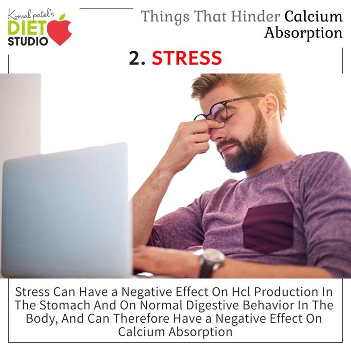 Calcium dissolves in the stomach and is absorbed through the lining of the small intestine into the blood stream. Once in the blood stream, calcium builds bone, regulates the expansion and contraction of the blood vessels, and performs other important functions.  Check out for factors which hinders calcium absorbtion.  #calcium #absorption #factors #nutrition