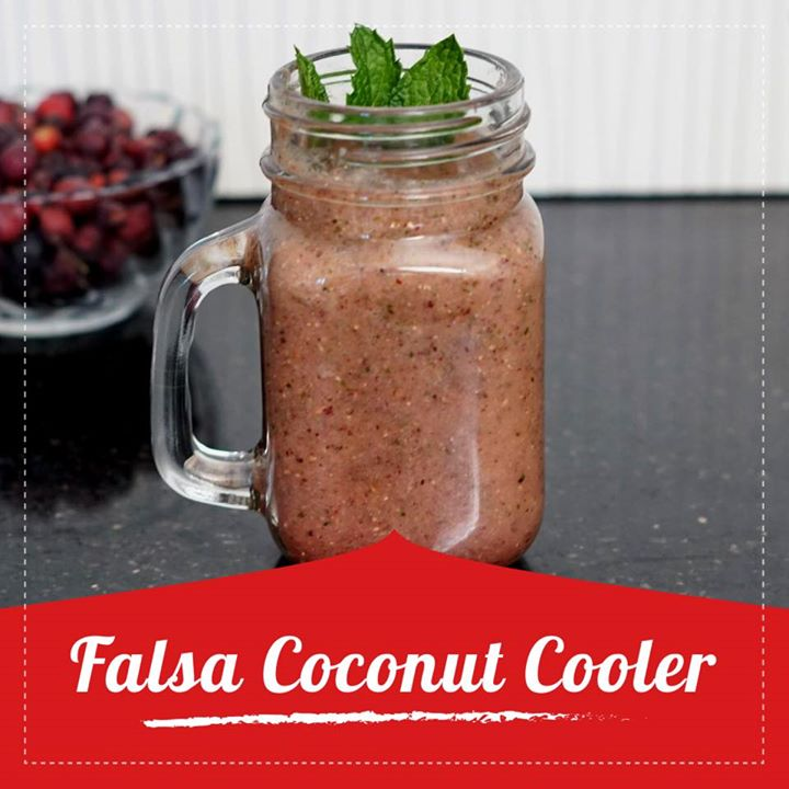 Why opt for softdrinks when you are thirsty this summer.  Try out this amazing falsa coconut cooler. Falsa juice helps in relieving digestive problems like excess acidity and indigestion. When you add coconut water to it it adds on an electrolyte balance and works as a great drink this summer. Check out for the recipe in the link below.  https://youtu.be/I-FJO5ET0fM  #falsa #coconut #healthydrink #healthyrecipe #falsajuice #falsadrink