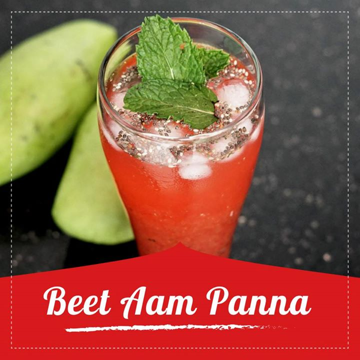 Summers are the time for fresh chilled drinks that beat the heat, and there's nothing better than Aam Panna to refresh our body. but for a health twist beet is been added to increase the nutrition value of the drink.  Check out for complete recipe on the link below.  https://youtu.be/DIFYiJWj2sQ #beetroot #aam #panna #healthydrink #summerdrink #recipe #healthyrecipe