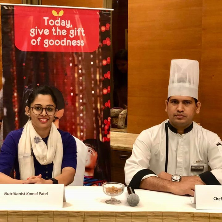 Had a cookout session with almond board of California. The contestants made very innovative recipes with almonds.. #almondboardofcalifornia #almonds #recipes #competition #komalpatel